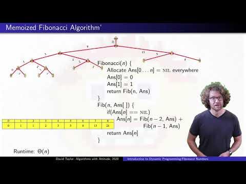 Introduction To Dynamic Programming:  Fibonacci Numbers