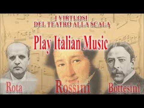 I Virtuosi del Teatro alla Scala play Italian Music: Rossini, Rota, Bottesini | Classical Music