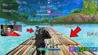 GOING UNDER THE MAP in Fortnite Battle Royale!