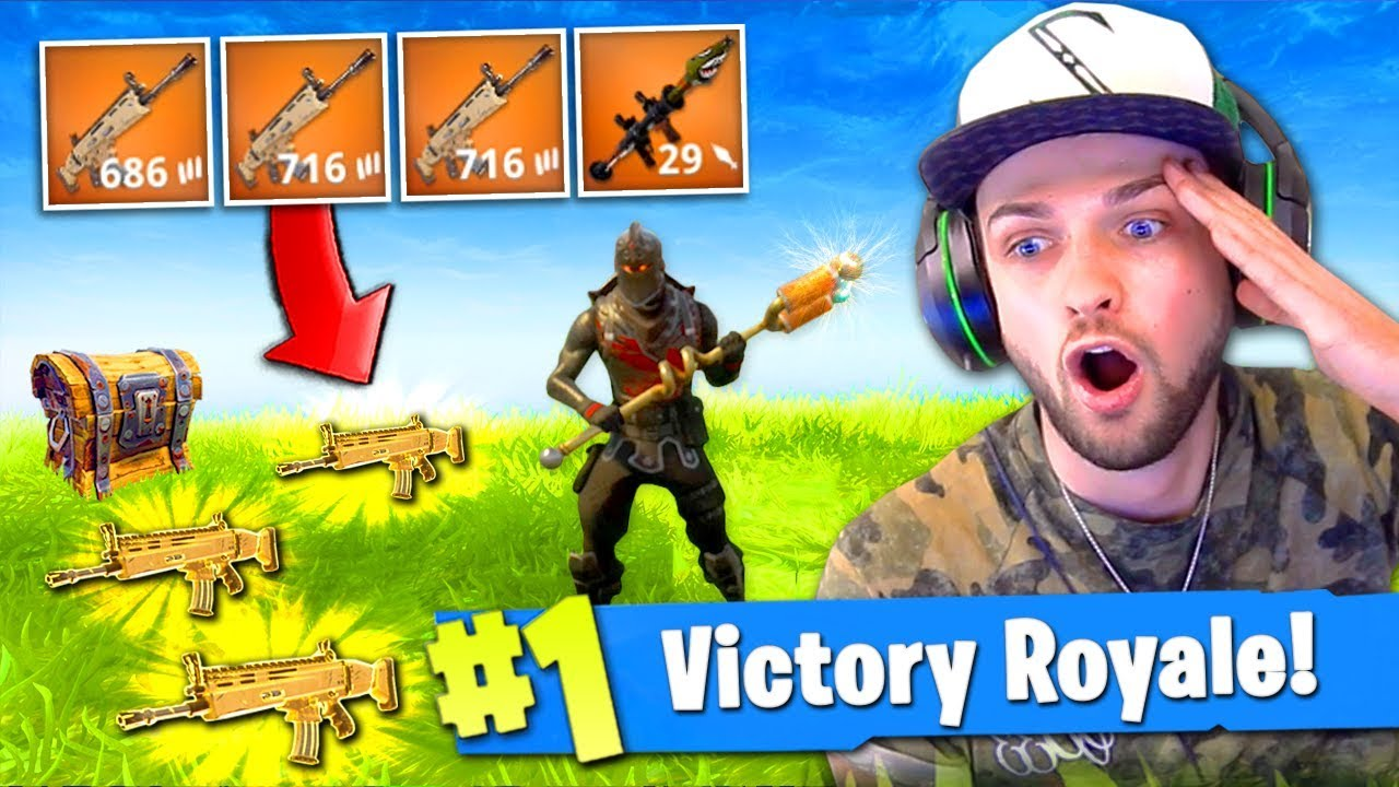 The Legendary Load Out In Fortnite Battle Royale