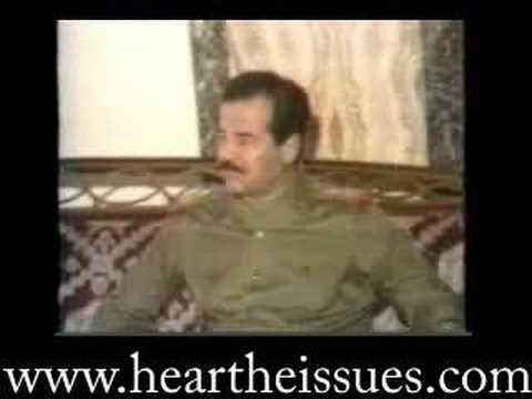 Donald Rumsfeld meets Saddam Hussein 1983 (full)