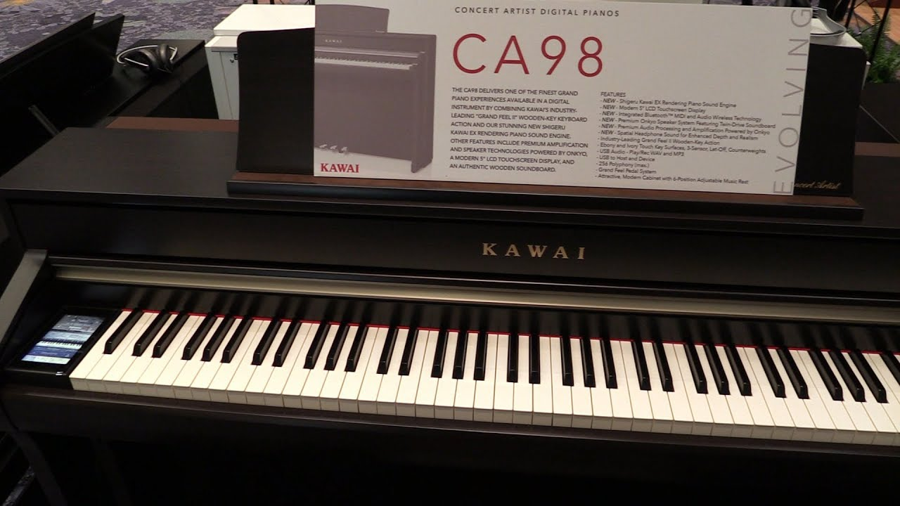 kawai ca series digital pianos at namm 2018 youtube. Black Bedroom Furniture Sets. Home Design Ideas