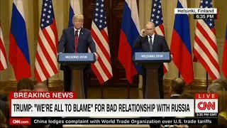 Саммит РФ-США: кореша Вова и Дональд заврались окончательно ч.1 (16/07/2018)
