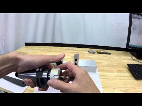 Setting Endmill in Tool Holder