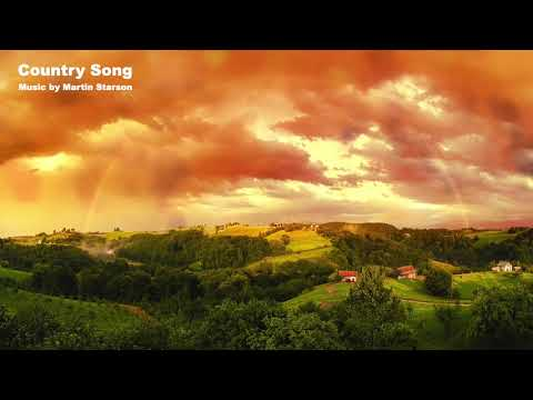 Instrumental Country Piano Music 'Country Song' Original composition by Martin Starson