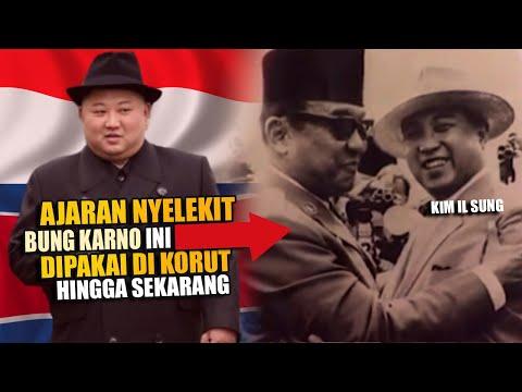 Kutuk Antek Nekolim! Soekarno Dipuja Kakek Kim Jong Un, Kim Il Sung Sepemikiran