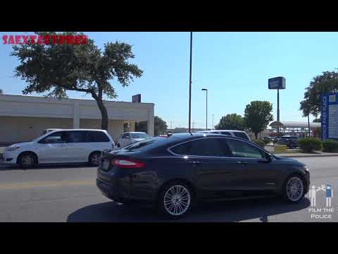 WINDCREST COP Violating Traffic Laws and Writing Citations