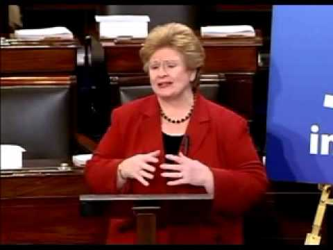 "Senator Debbie Stabenow Says The ""Stimulus"" Made ""Significant Investments... In America"""