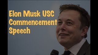 Learn English | Elon Musk USC Commencement Speech With Big Subtitles
