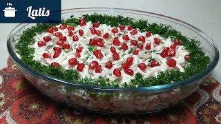 Вкусный рыбный салат - Быстро и Легко!