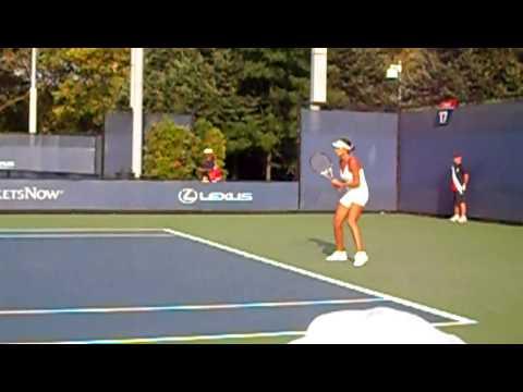 Zhang Shuai at US Open 2009