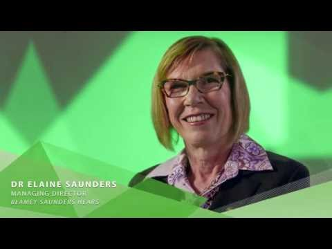 2016 Clunies Ross Entrepreneur of the Year Award - Dr Elaine Saunders