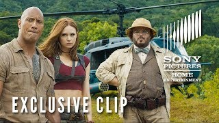 JUMANJI: WELCOME TO THE JUNGLE - Exclusive Clip