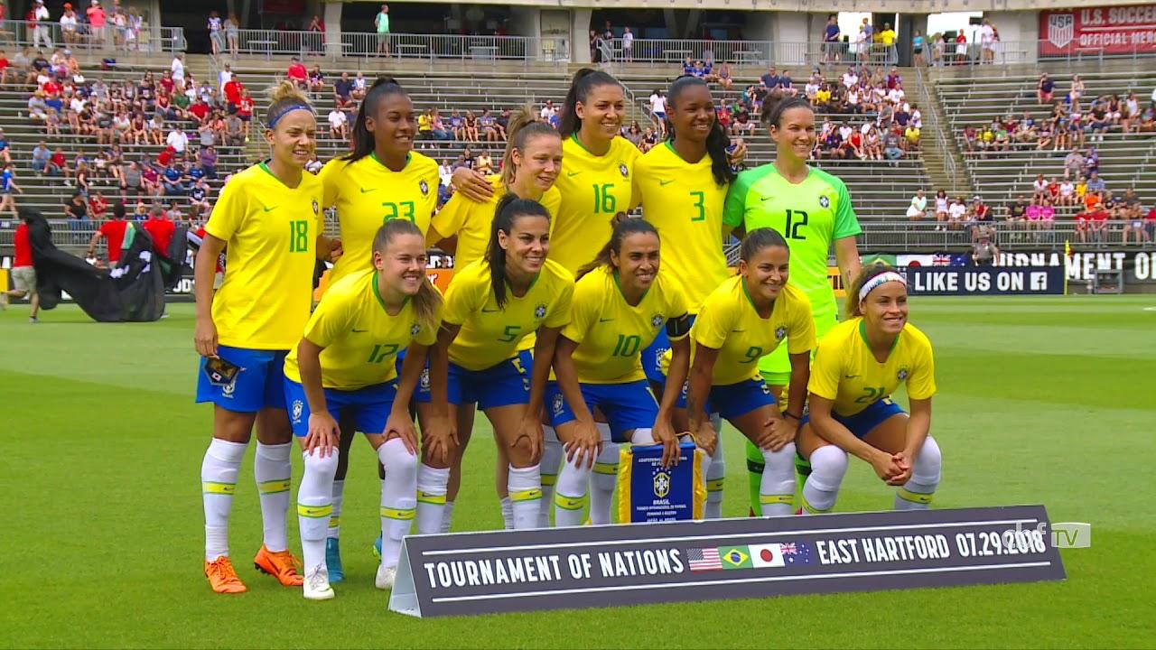 72741d49042fe Bastidores da Seleção Feminina  Brasil 2 x 1 Japão. Confederação Brasileira  de Futebol