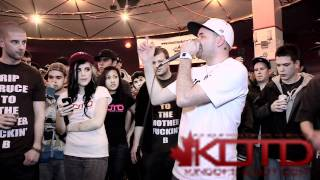 KOTD - Beatbox Battle - Emotionz vs Exzam