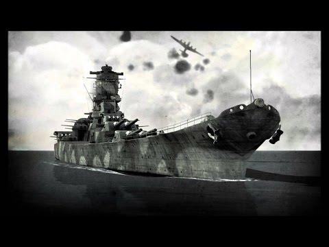 Battlestations Pacific-Super Yamato DLC Battleship Fleet vs Renown Fleet