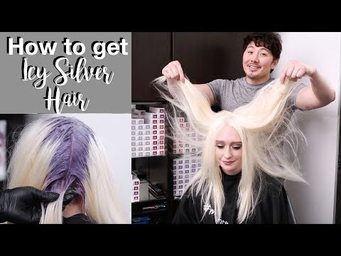 How to get Icy Silver Hair