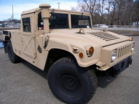 2008 Am General M1113 4x4 Humvee Hmmwv On Govliquidation