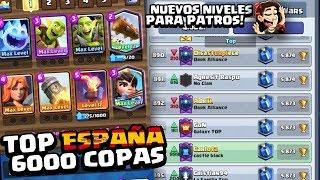 ¡A POR EL TOP ESPAÑOL EN LADDER! (+6000 COPAS) ¿con TILT?l Clash Royale en Español
