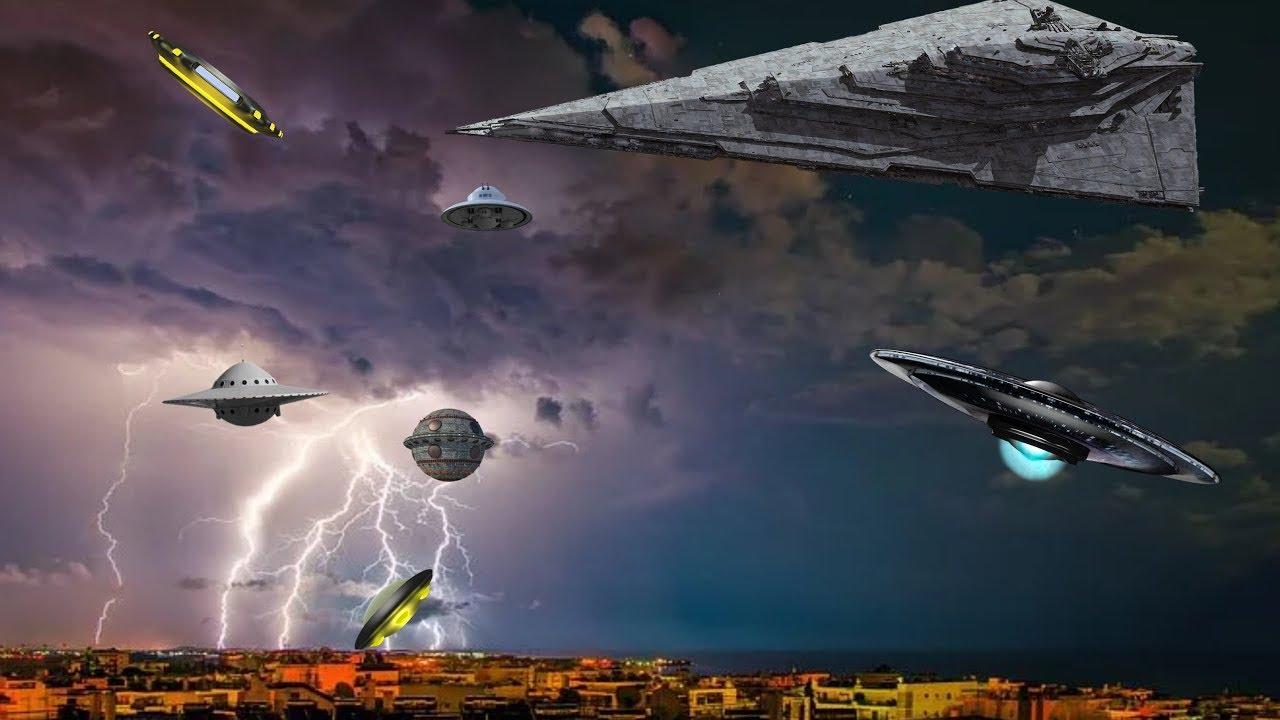 มีบันทึกยูเอฟโอนับร้อยต่อสู้กันเหนือท้องฟ้าเยอรมนี
