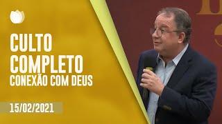 CONEXÃO COM DEUS 20H   Rev. Arival Dias Casimiro   Igreja Presbiteriana de Pinheiros   IPP TV
