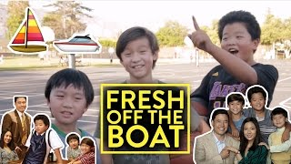 FRESH OFF THE BOAT CAST - AZN EXPERIENCE