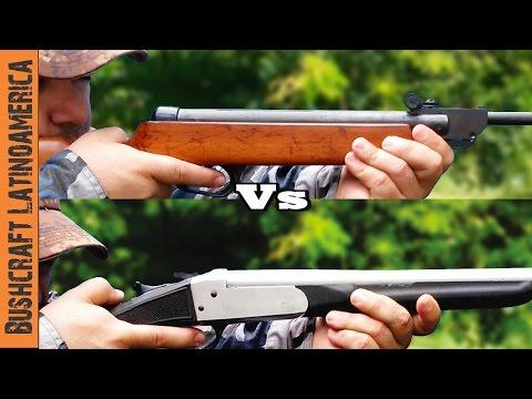 Rifle de Aire vs Adaptador Calibre 22