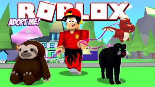 ROBLOX - ADOPT ME - NEW TOYS AND LEASHES FOR MY PETS!!