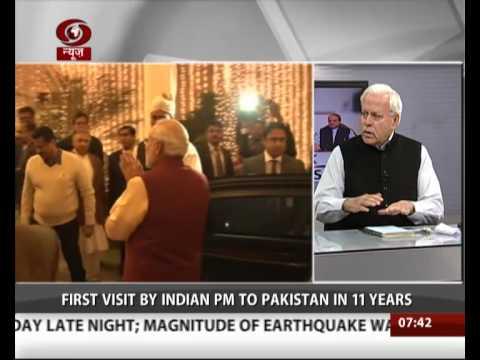 PM Modi meets Nawaz Sharif at Sharif's Raiwind home
