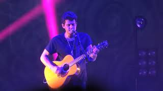 Neon: John Mayer 10/7/18 Modell Lyric Baltimore, MD