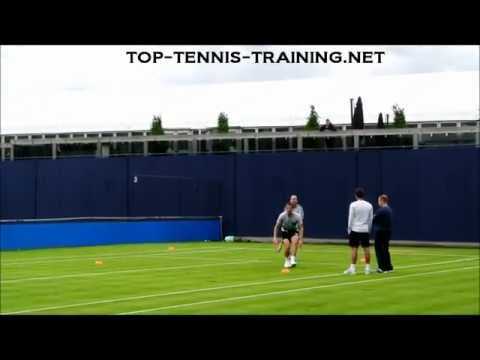 Andy Murray Footwork Drills