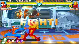 Arcade Longplay [721] Marvel Super Heroes