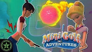 MY BACK! - 3D Ultra Mini Golf Adventures - Matt's Maps March | Let's Play
