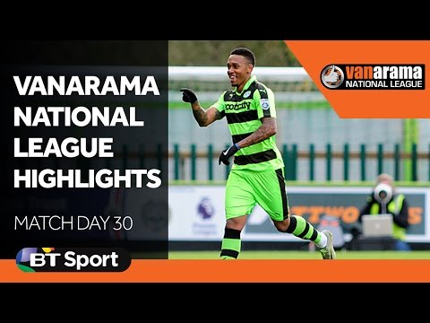 Vanarama National League Highlights Show: Matchday 30
