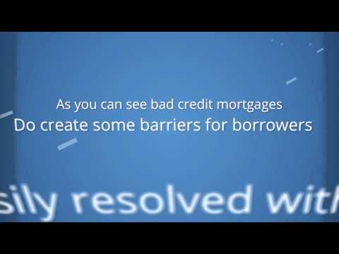 Bad Credit Mortgage - Canada Wide Financial - Call 1-866-342-5099