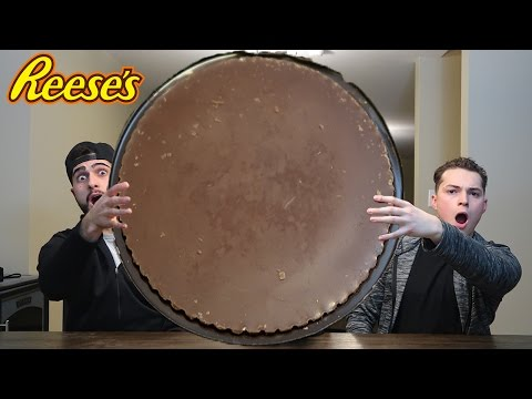 EATING THE WORLDS BIGGEST REESE'S CUP!