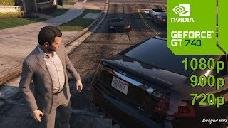 GTA 5 GamePlay [PC] in Nvidia Geforce GT 740 - No Commentary part 1