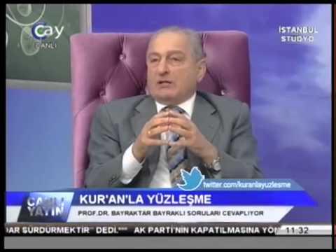 Beraat, Regaip, Mevlid günleri hakkında  Prof  Dr  Bayraktar Bayraklı