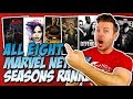 All 8 Marvel Netflix Seasons Ranked Worst to Best (w/ Jessica Jones Season 2)