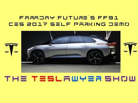 Faraday Future FF91 Full Self Parking Demo CES 2017