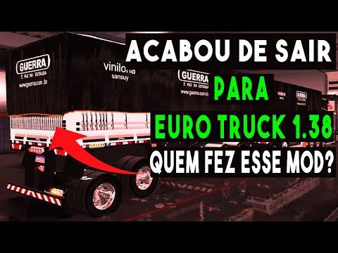 ACABOU DE SAIR ESSE MOD GIGANTE PARA EURO TRUCK 2 1.38- VAMOS TESTAR E TE PASSAR TUDO