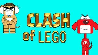 Rat-A-Tat Clash of Lego in Lego House  Fire Engines Cartoon Chotoonz Kids Funny Cartoon Videos