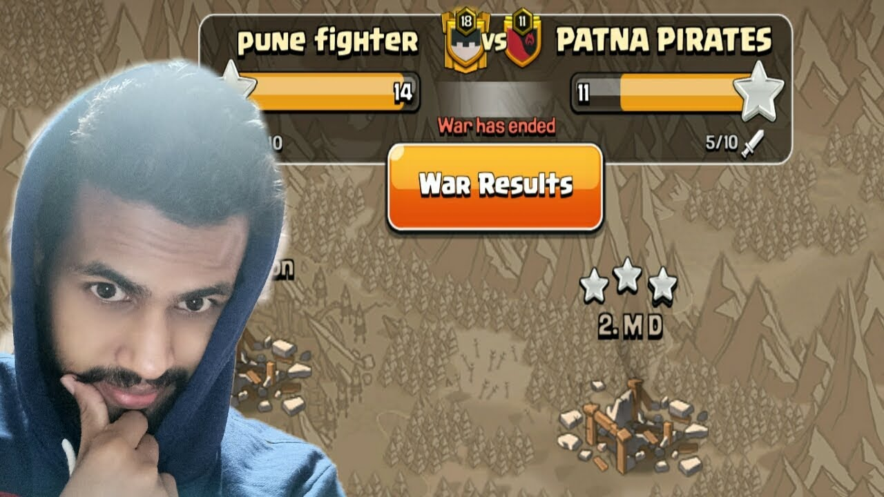 Op war – Pune fighter vs Patna Pirates – Clash of Clans Coc