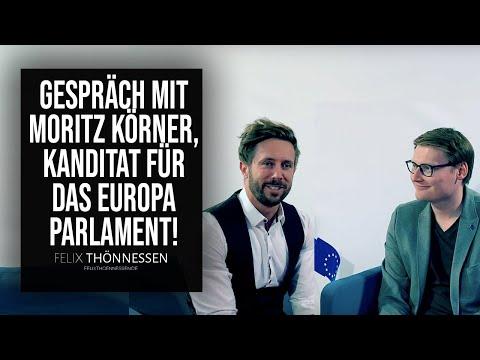 Gespräch mit Moritz Körner, Kanditat für das Europa Parlament