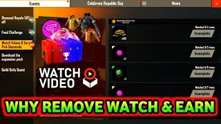 WHY REMOVE WATCH ADS EARN PINK DIAMOND FREE FIRE || PRG GAMERS