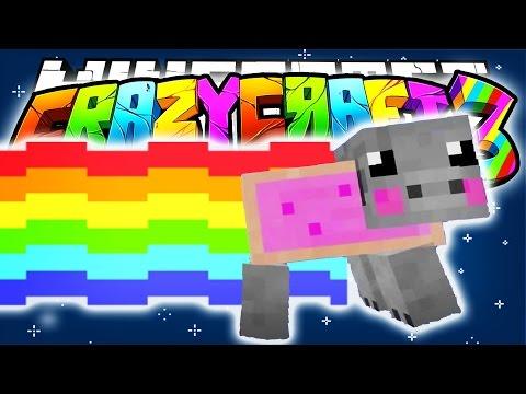 Minecraft crazy craft 3 0 nyan pigs pig launcher mod for Http test voidswrath com modpacks crazy craft 3 0