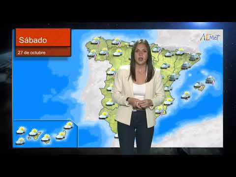 Nuboso o cubierto con lluvias y chubascos generalizados, acompañados de tormenta y, probablemente, granizo menudo.