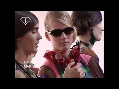 Toni Garrn Talks - First Face Countdown Spring 2009 Model #3   FashionTV - FTV