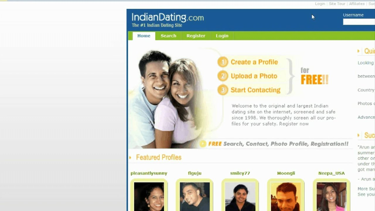 Indie online dating