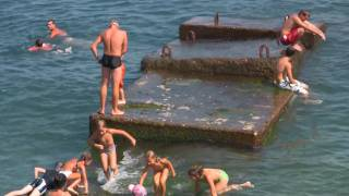 Repeat youtube video Russia,Crimea,Yalta, Massandra beach